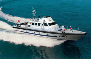 Grandsea 25m 40knots FRP Offshore Navy Mililtary Patrol Boat for Sale