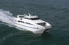 China 22.6m Aluminum Catamaran 150 Passenger Ferry Boat For Sale