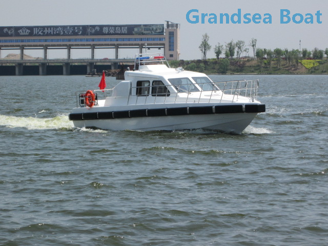 45ft High Speed Coast Guard Fiberglass Patrol Boat for Sale