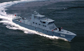 22m Fiberglass High Speed Patrol Boat for Sale