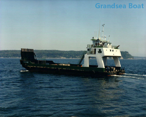 45m Steel Hull Shallow Water Landing Craft /LCT Boat for Sale