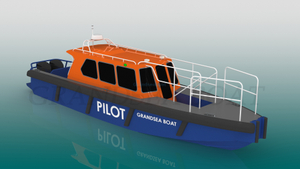 Grandsea China Made 11.6m Cheap Price Aluminum Marine Pilot Boat for sale