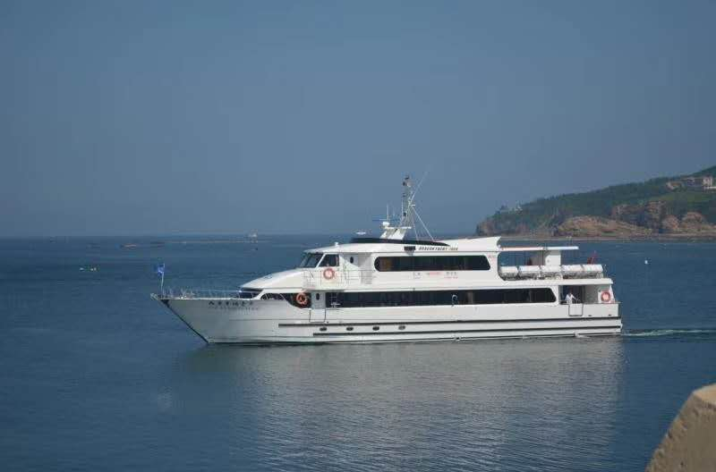 Used 31m Fiberglass Sea Water Speed Passenger Ferry Boat for Sale