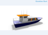 42ft 30 Persons Aluminium Passenger Ferry for Sale