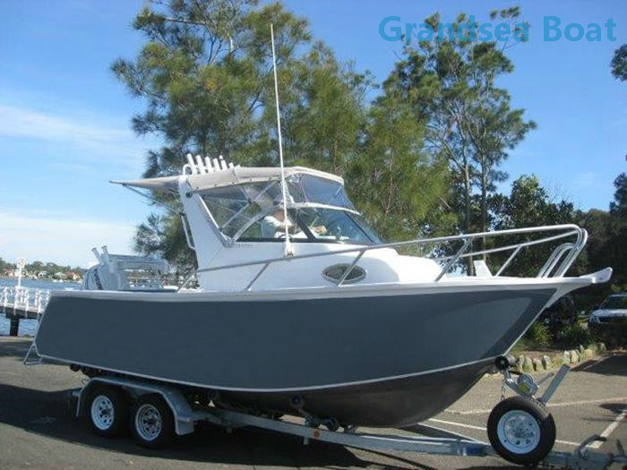 Aluminum Fishing Boats For Sale >> 19ft Cuddy Cabin Aluminum Fishing Boat Buy Product On