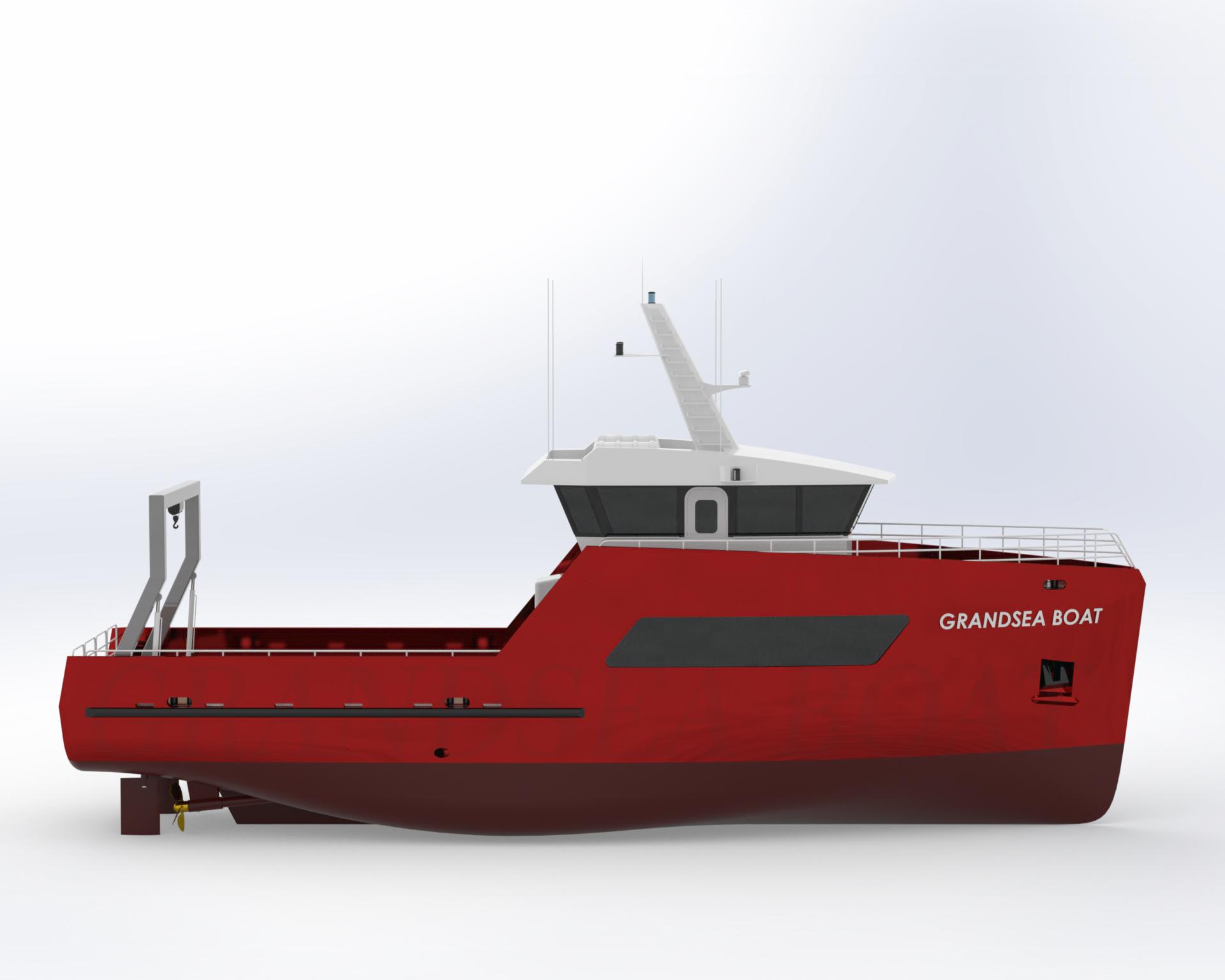 22m Fast Platform Supply Vessel/multi Purpose Utility ...