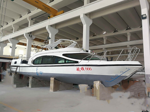 China 13.8m Steel Hull Day Commercial 30 Passenger Boat for sale