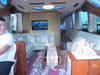 China 17m Fiberglass Dinner Cruise Restaurant 28 Passenger Boat for Sale