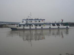 200 seats fast speed ferry steel passenger boat