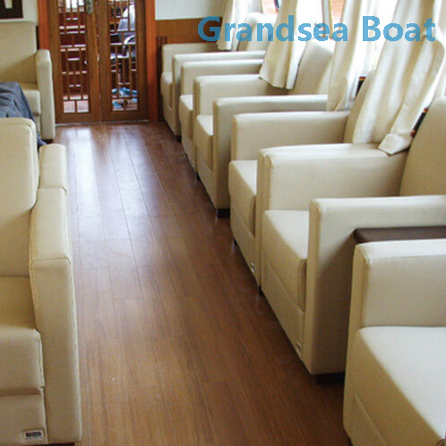 17.6m 60persons Steel Sightseeing Water Taxi Boat for Sale