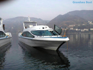 47 seats fiberglass passenger ferry inboard engine boats for sale