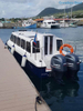 18 Persons Fiberglass Speed Passenger Ferry Motor Boats for Sale