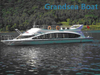 18m 60 Perons Fiberglass Sightseeing Taxi Ferry Boat for Sale