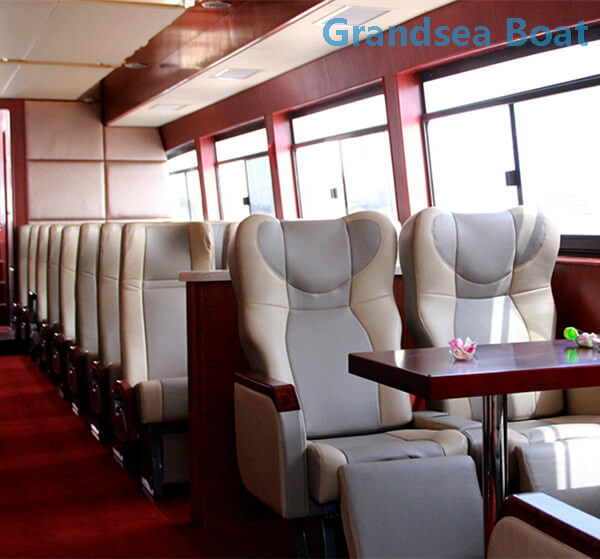 25m 120persons Fiberglass River Passenger Ferry Boat for Sale