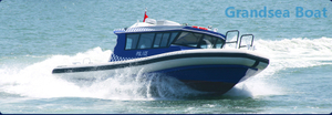 11.65m Aluminum/aluminium High Speed Outboard Engine Patrol Coastguard Boats for Sale