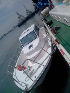 27ft offshore speed cabin fiberglass fishing boats for sale