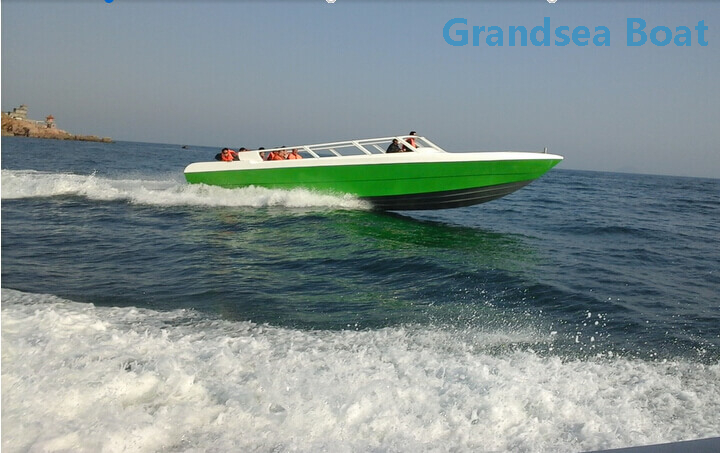 40persons Fiberglass Speed Touring Passenger Boat for Sale