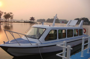 China 11.8m GRP 20 Passenger Inboard Diesel Engine Ferry Boat for Sale