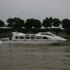 30 Persons Aluminum Hull Fast River Water Taxi Boats for Sale