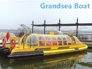 28 Persons Fiberglass Water Taxi Passenger Boat for Sale