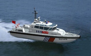 15m FRP Marine Diesel Inboard Coast Guard Patrol Boat for Sale