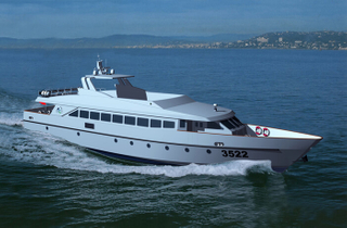 35m 200 Persons Passenger Fast Speed Ferry Boats for Open Sea