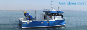 15m aluminum catamaran work boat for sale