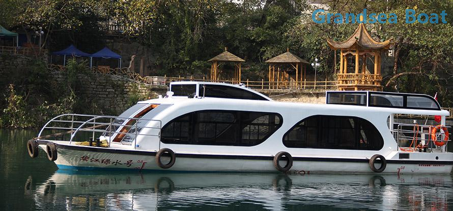 21.6m Steel 80persons River Water Taxi Touring and sightseeing Boat for Sale