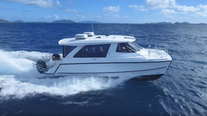 38ft Fiberglass Catamaran Water Taxi Passenger Boat for sale