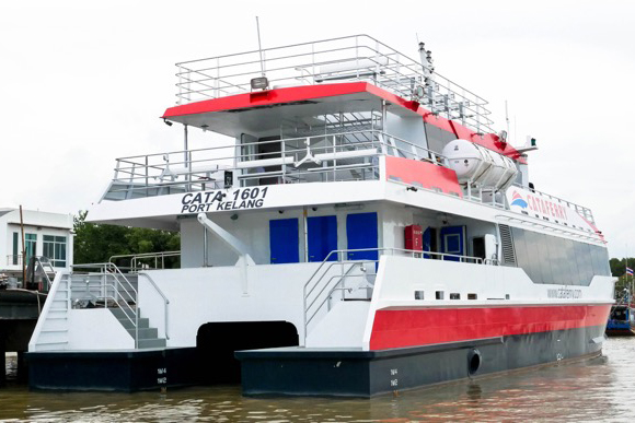 28m 180persons Aluminium Catamaran Passenger Ferry Boat For Sale