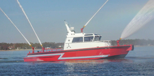 15m aluminum speed fire rescue boat for sale