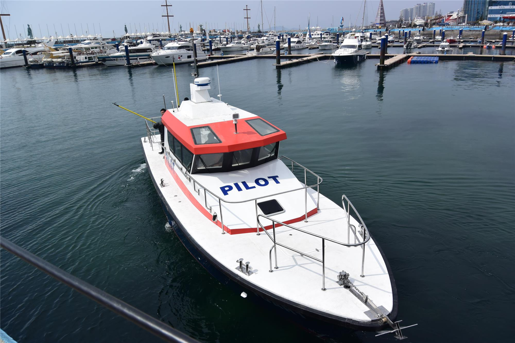 15m High Speed Pilot Patrol Boat for Sale
