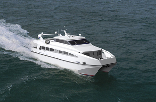 Grandsea Boat 22m 150persons Aluminium Catamaran Passenger Ferry Boat for Sale