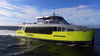 90persons aluminum Catamaran Speed Passenger Ferry Boat