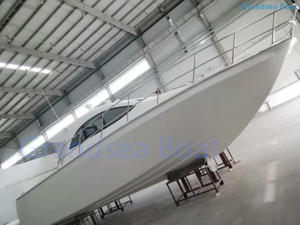 Grandsea 35ft Fiberglss Catamaran Cabin Fishing Boat for Sale