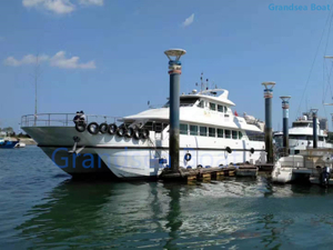 27m 74seats Second Hand Fiberglass Catamaran Passenger Boat for Sale